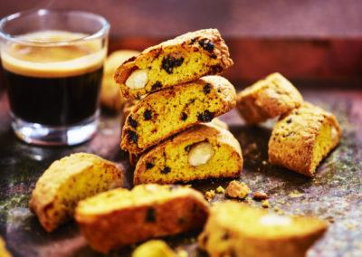 Saffrans biskcotti